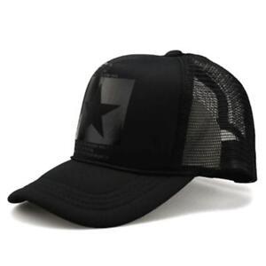 Baseball-Star-Cap-Hat-Men-Women-Hip-Hop-Hats-Summer-Mesh-caps-Gorras-Sun-Trucker