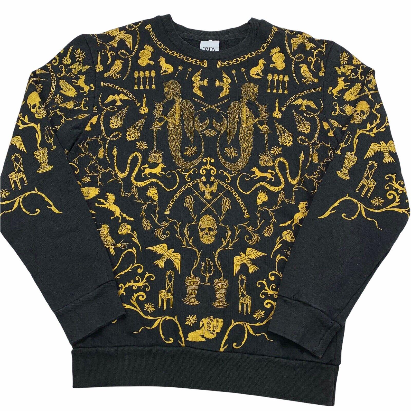 Necromancy Conjure Black Magic Witchcraft Sweatshirt Pullover Sweater Womens S
