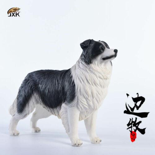 JxK.Studio 1//6 Border Collie Dog Toy Resin Figurine Decoration Accessory Jxk006