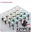 21-22-pcs-lot-Star-Wars-501st-TROOPER-clone-Trooper-Printd-minifigure-Lego-MOC thumbnail 22