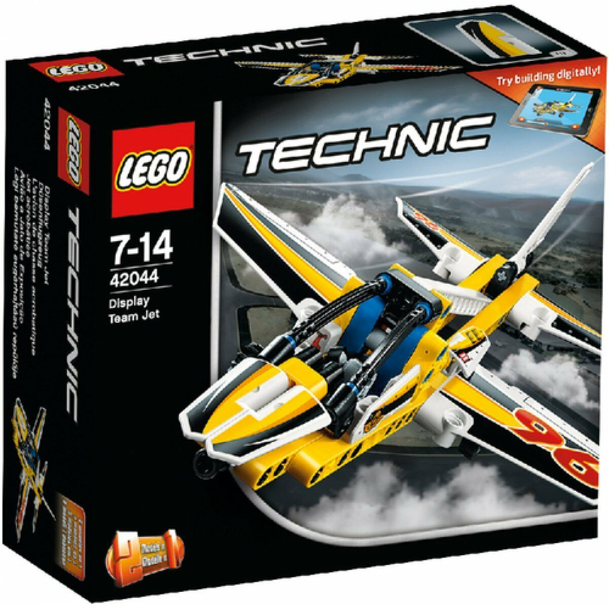 3-4-5 Lego Technic (42044) Jet Plane Aeroplane 2 in 1 New