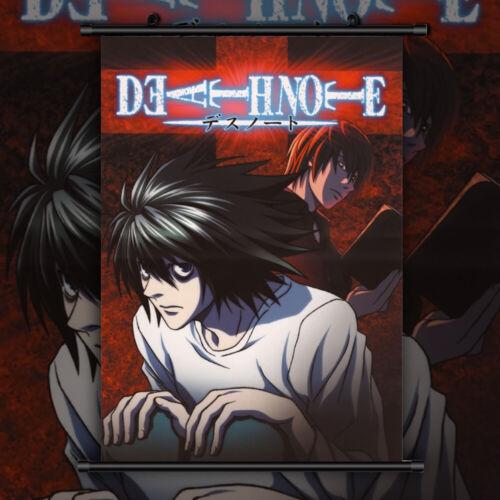 Death note Anime Manga Wallscroll Poster Kunstdrucke Bider Drucke