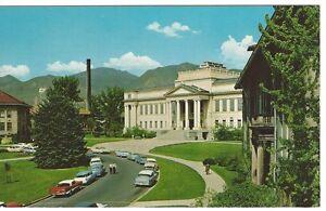 Vintage-Cars-University-of-Utah-Campus-Salt-Lake-City-Utah-Unused-Postcard