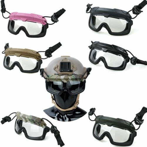 TMC3105 Tactical SF QD Goggles Anti FOG Wind Protective ANSI Z87.1 for Helmet