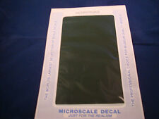 MICROSCALE DECAL TRIM FILM TF-26 PULLMAN GREEN NEW