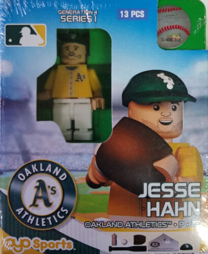 Jesse Hahn OYO Oakland Athletics MLB Mini Figure NEW G4