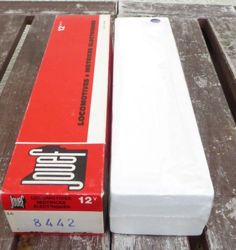 Jouef 8442 Emballages Vides pour la Locomotive Électrique cc 65000 SNCF + Sncb ,