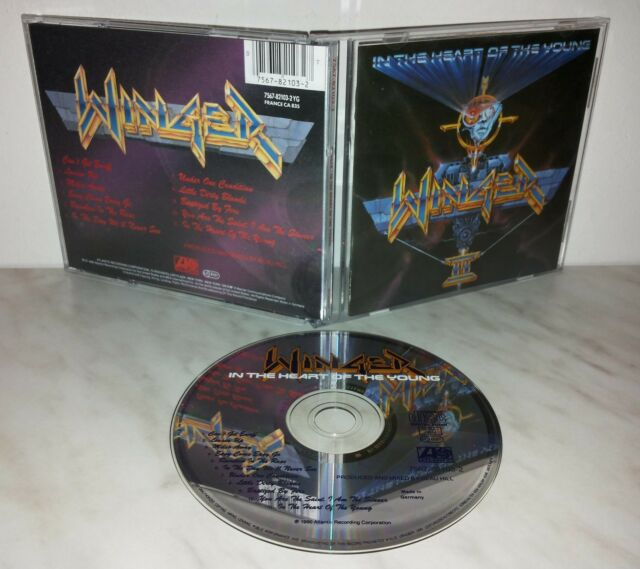 CD WINGER  - IN THE HEART OF THE YOUNG