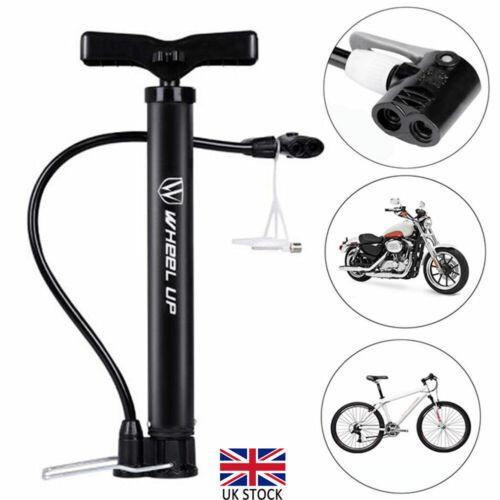 Mini High Pressure Bike Pump Bicycle Tyre Hand Push Pump with Base Repair Tool