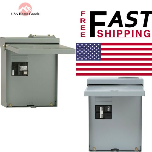 GE Panel Breaker Box 60 Amp GFI Spa Protection 240 Volt 240 Watt Max
