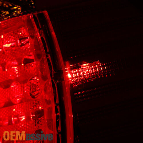 4Pcs Lamp For 2002-2005 BMW E46 3-Series 4Doors Sedan Red Clear LED Tail Lights