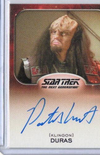 Star Trek The Next Generation TNG Autograph /& Archive Cut Selection NM