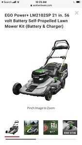 Ego LM2102SP 21 inch Self Propelled Mower