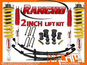 Rancho Lift Kits >> Details About Toyota Hilux Kun26r Ggn25r 2005 2014 Rancho 50mm 2 Inch Suspension Lift Kit