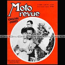 MOTO REVUE N°1640 BULTACO 200 CROSS HUSQVARNA HALLMAN GRAND PRIX FRANCE 1963