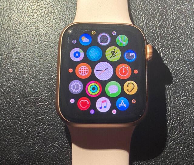 Apple Watch Series 5 MWWP2LL/A GPS & Cellular 40mm Pink Sand READ DESCRIPTION
