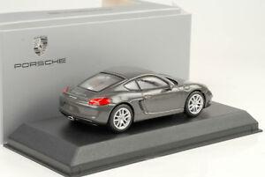 1:43 Porsche Cayman 981C Achatgrau metallic 2013 Norev WAP Dealer