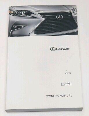 Lexus es 350 user manual