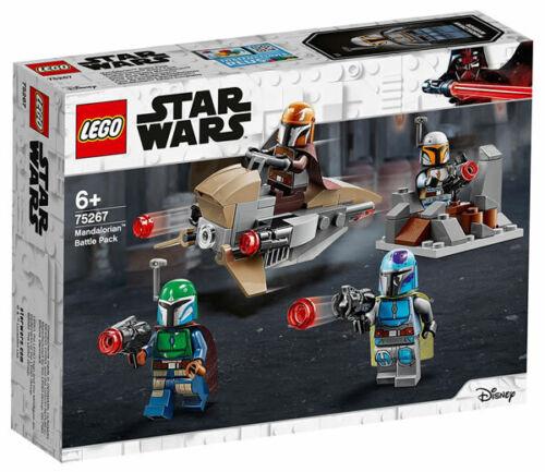 Mandaloriano NUEVO LEGO Star Wars 75267 Mandalorian Battle Pack