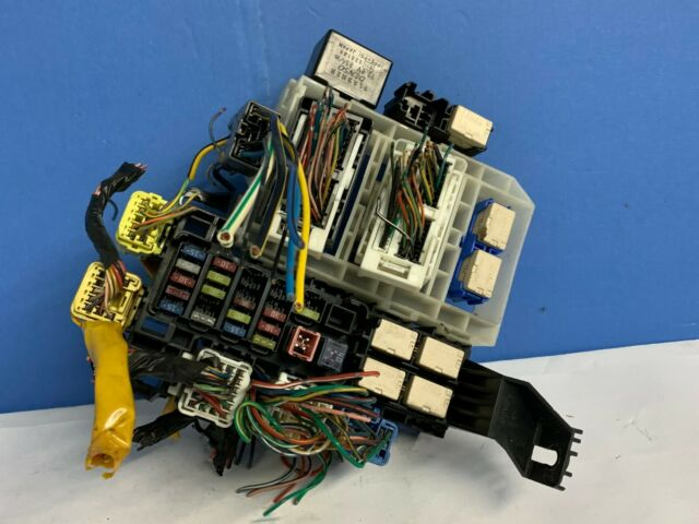 Diagram Fuse Box Suzuki Grand Vitara 2004