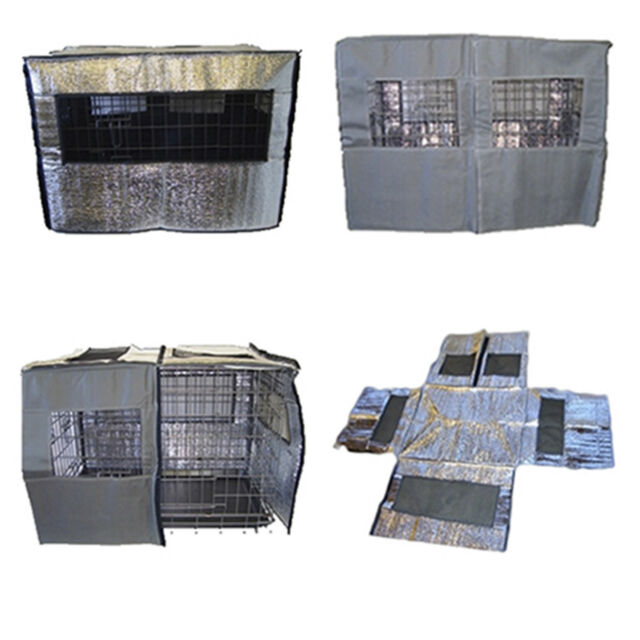 REFLECTIVE DOG CAGE COVERS ALL SIZES FROM DOGHEALTH