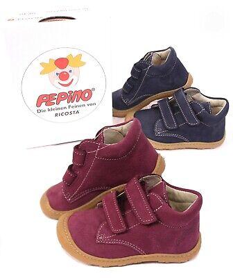 Ricosta Pepino Chrisy Kinder Lauflernschuhe Gr 22 Leder Sneaker WMS Mittel 21
