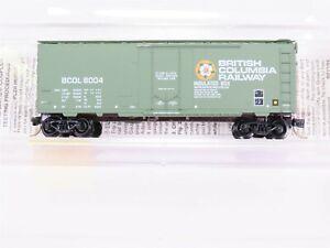 N-Scale-MTL-Micro-Trains-21230-BCOL-British-Columbia-Railway-40-039-Box-Car-8004