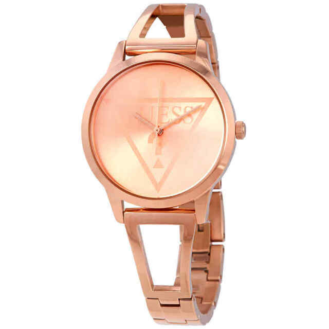 8bcc67c808401 GUESS Lola Rose Gold Dial Ladies Watch W1145l4 for sale online