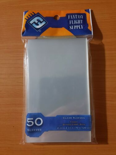 Card Sleeves TCG CCG Pokemon MTG 50 FANTASY FLIGHT 70x120mm Board Game