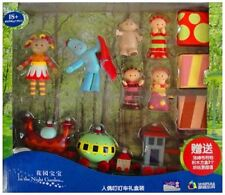 BIG IN THE NIGHT GARDEN CHARACTER ACTION FIGURE FIGURINES & NINKY NONK TRAIN TOY