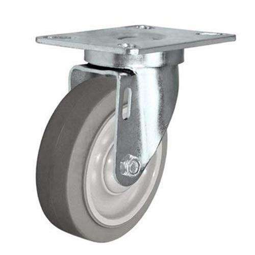 """3/"""" X 1-1//4/"""" Swivel CasterThermo Plastic Rubber Wheel225 LBS Cap CasterHQ"""