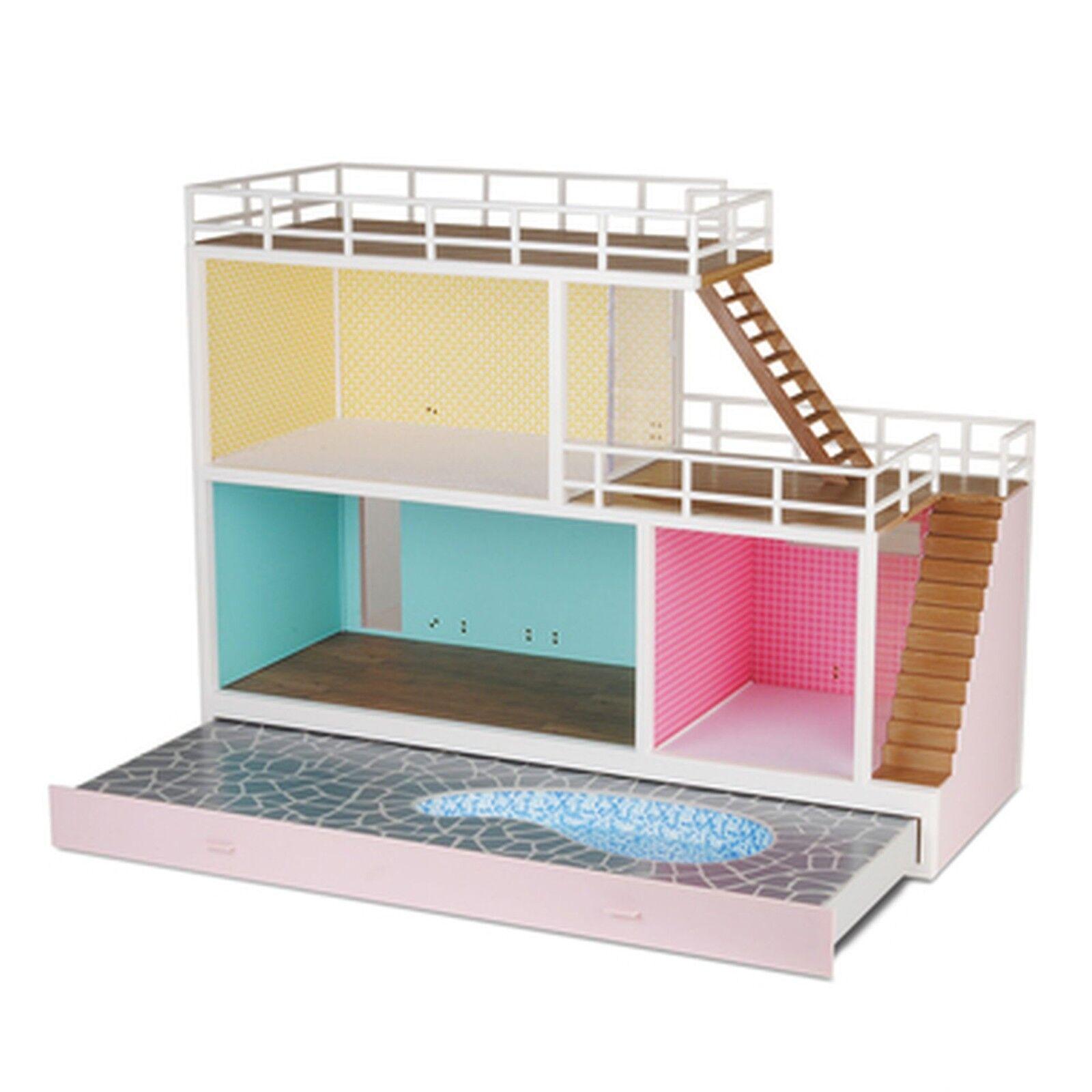 Casa de muñecas con piscina u. terraza Lundby Estocolmo