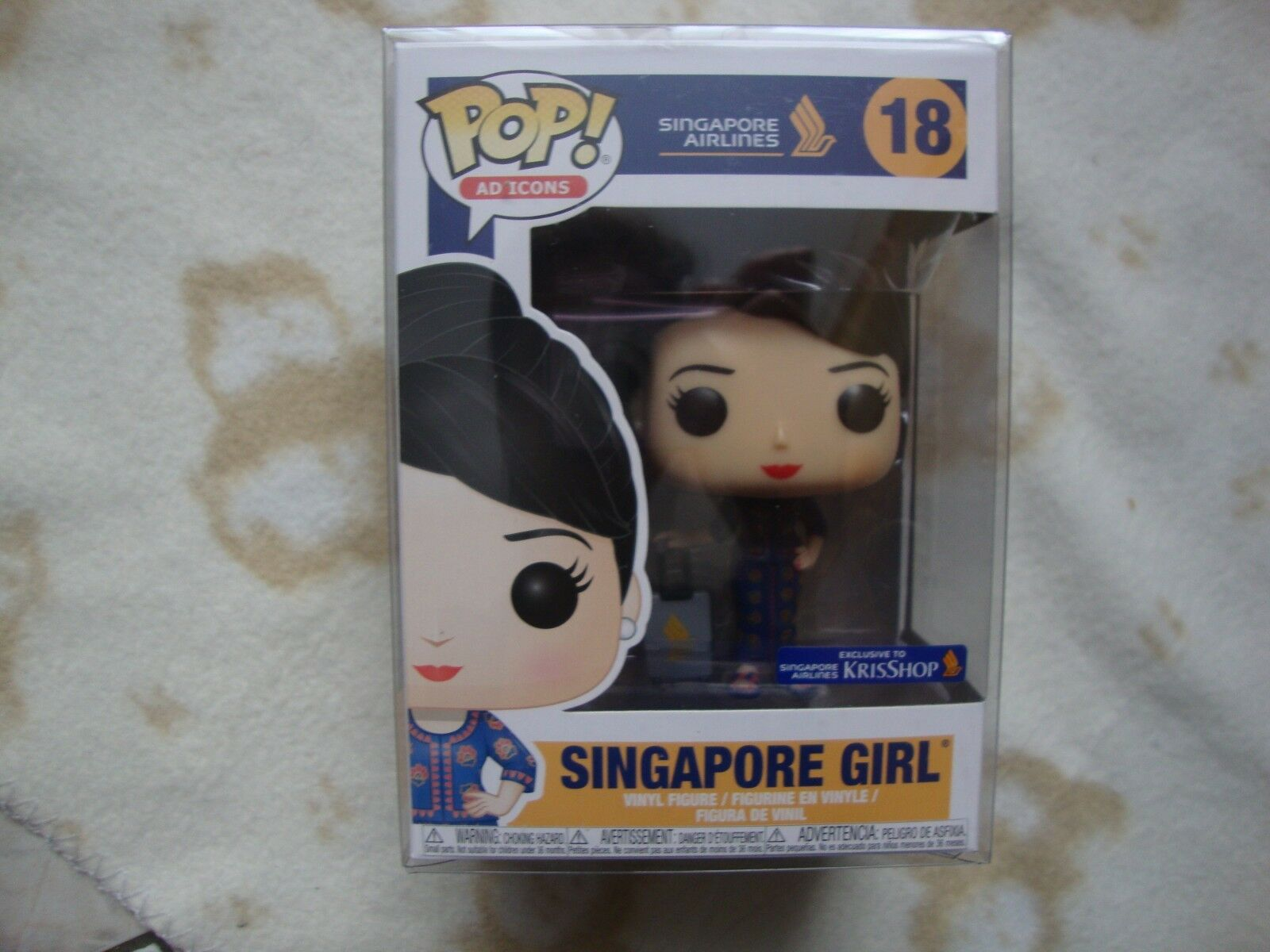 Funko POP AD icônes  18 Singapour Girl exclusif