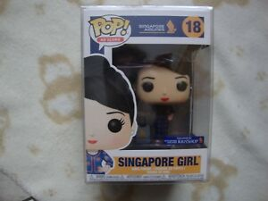 Funko Pop Ad Icons Vinyle Singapour Girl - Singapore Airlines Neuf Nrfb