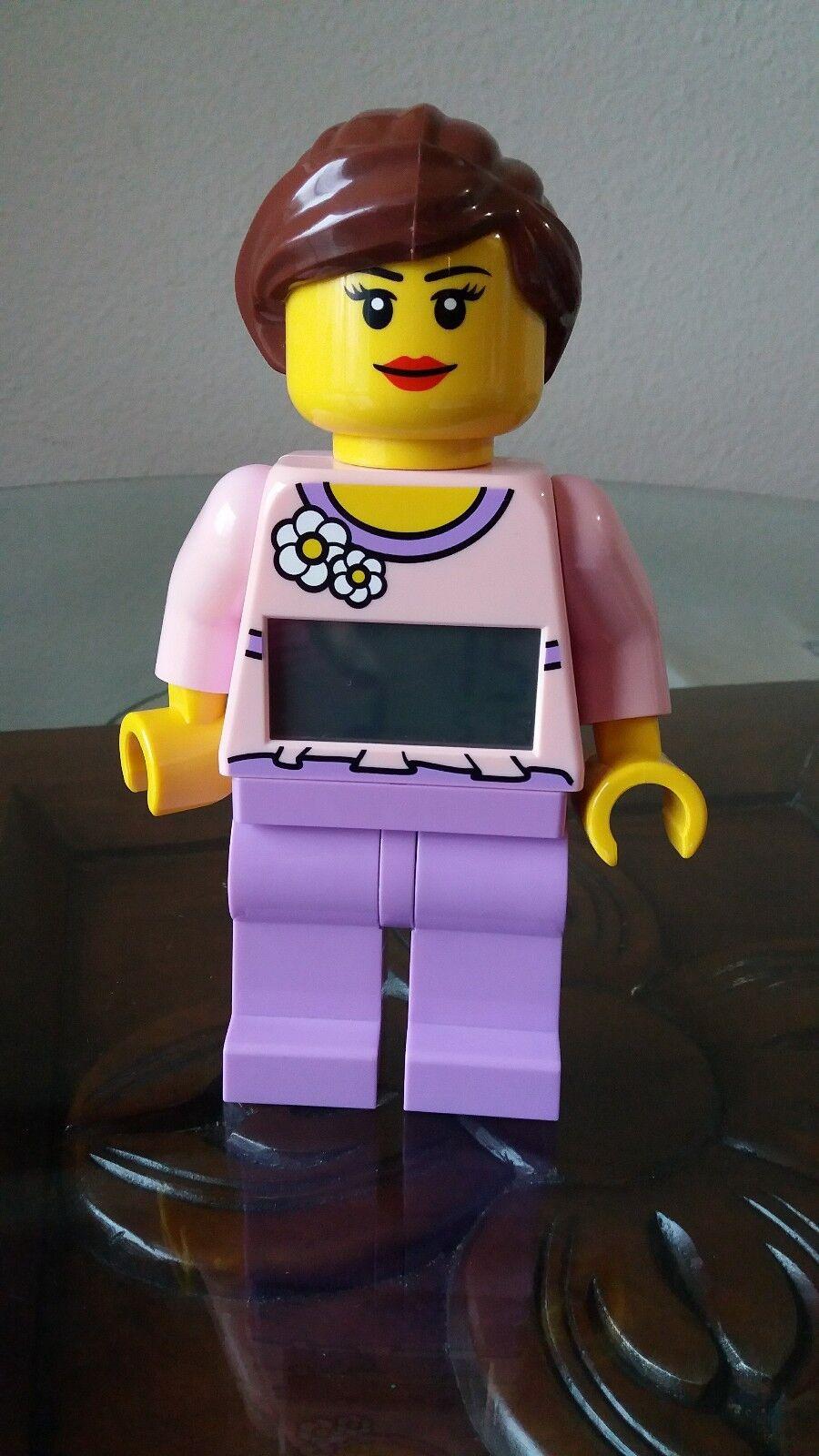 Lego Belville Girl Minifigure Alarm Clock with Licht