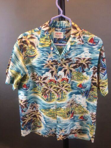 "Vintage 1950's ""Aloha Shirts"" Men's Hawaiian Rayon"