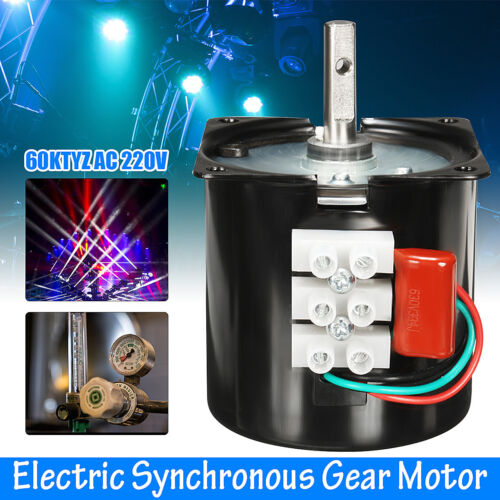 AC 220V 60RPM A60KTYZ Gear-Box Electric Synchronous Motor Speed Reducing