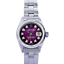 Rolex-Lady-Datejust-Purple-Diamond-Dial-Fluted-Bezel-26mm-Oyster-Band-Watch thumbnail 1