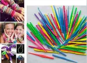 10pcs-DIY-LOOM-Hook-Tool-For-Kids-039-Crafts-Mini-Loom-Crochet-Hooks-Hot-US