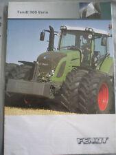 Fendt 900 Vario Tractor brochure Dec 2006 English text