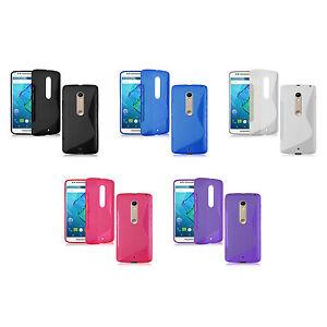 Motorola-Moto-X-Estilo-FUNDA-S-LINE-Silicona-Gel-Gadget-Boxx