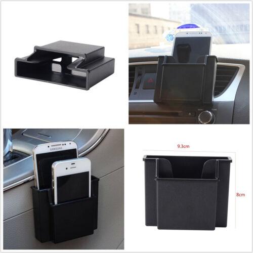 Car Air Vent Storage Box Mobile Phone Charger Cradle Pocket Bag Organizer Holder