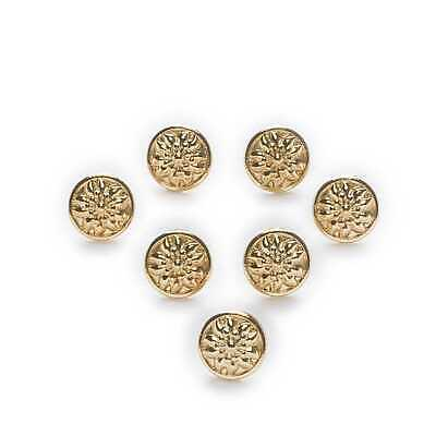 10pcs Poker Metal Shank Buttons Clothing Shirt Sewing Decor Replace 9mm