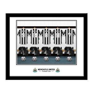 Rechercher Des Vols Newcastle United F.c - Personnalisé Imprimé (dressing Légendes)-afficher Le Titre D'origine