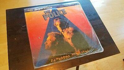 Rare The Police Zenyatta Mondatta Rare Nautilus Superdiscs