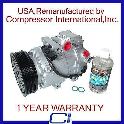 NEW OEM AC Compressor w// Clutch for 2013-2016 Hyundai Genesis Coupe V6 3.8L