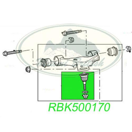 LAND ROVER FRONT UPPER BALL JOINT SET x2 RANGE SPORT LR3 LR4 RBK500170 OEM