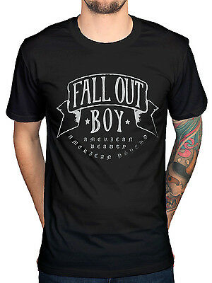 Official Fall Out Boy American Beauty T-Shirt Rock Band Centuries Merchandise