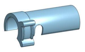 3d printed Crosman 140 Gas Gun Bolt Sleeve with Thumb Lever