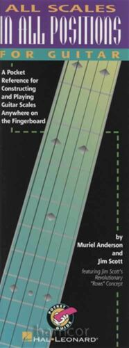 All Scales in All Positions for Guitar Book